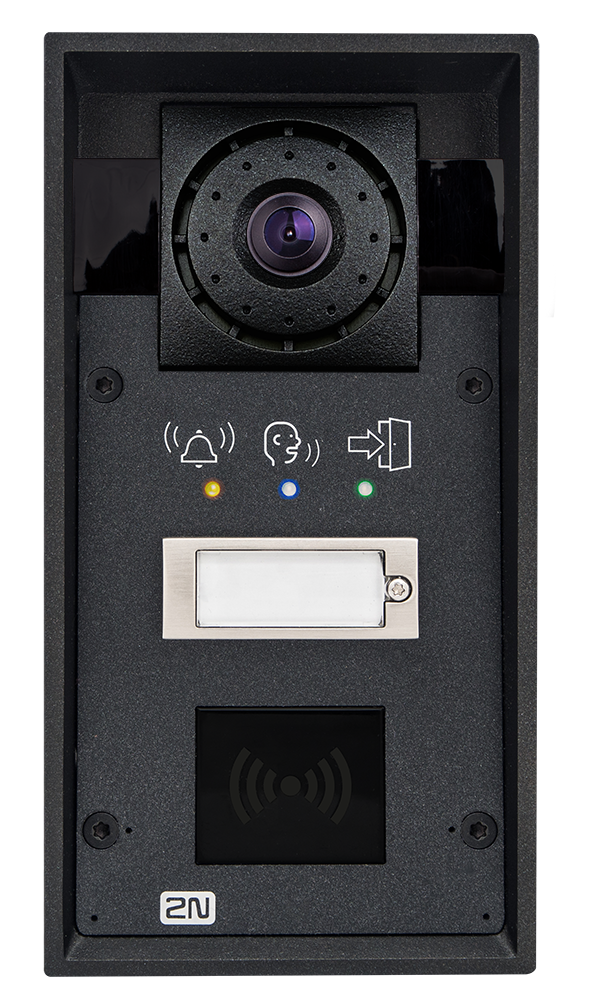9151101chrpw ip force 1 button hd camera pictograms card reader ready photo front hq