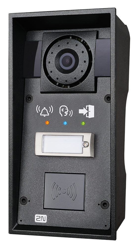 9151101chrpw ip force 1 button hd camera pictograms card reader ready photo front right hq