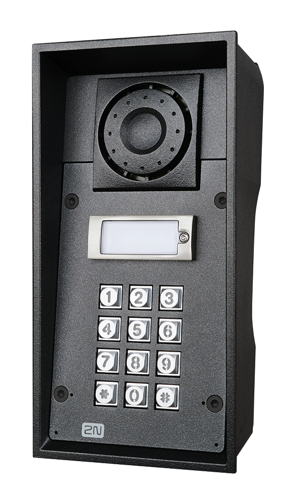 9151201k analog force 1 button keypad photo front right hq
