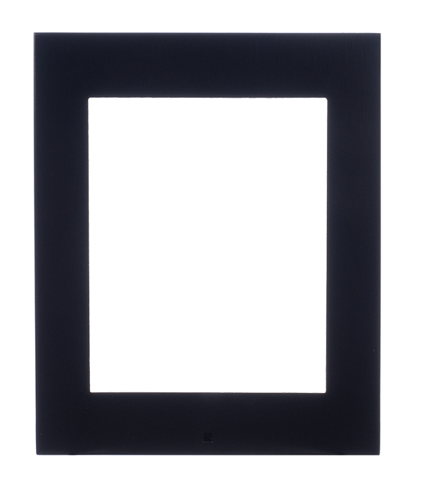 9155021b ip verso black frame for surface installation 1 module photo front hq
