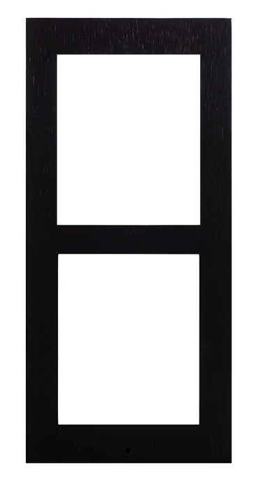9155022b ip verso black frame for surface installation 2 modules photo front hq